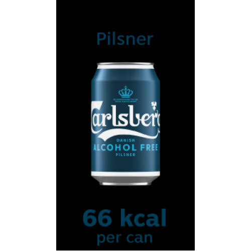 *NEW* Carlsberg Alcohol Free Pilsner 330ml Can