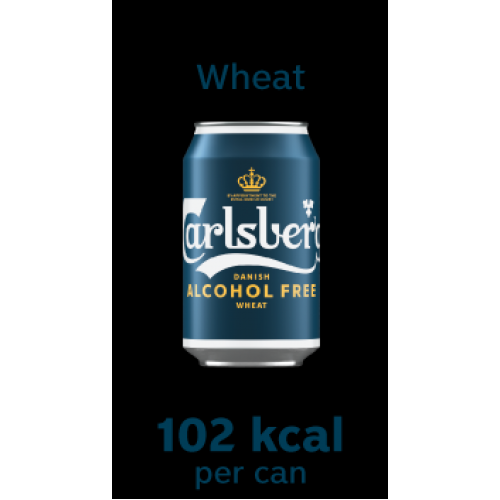 *NEW* Carlsberg Alcohol Free Wheat 330ml Can