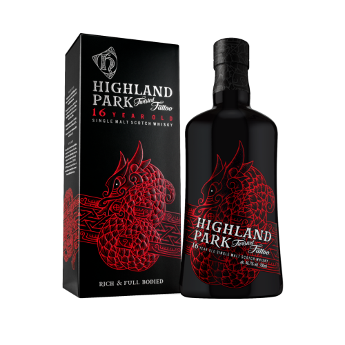 Highland Park Twisted Tattoo 16 Years Old 700ml