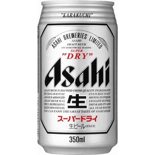 Asahi Super Dry Beer 350ml Can