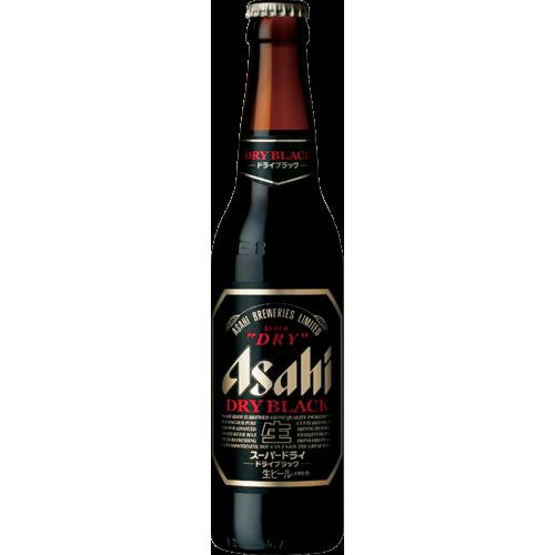 Asahi Super Dry Black Lager Bottle 334ml