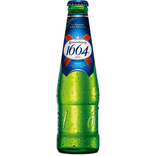 Kronenbourg 1664 Lager 330ml Bottle
