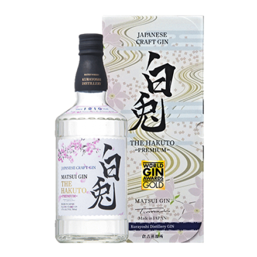 *NEW* Matsui Craft Gin - The Hakuto PREMIUM 白兎 700ml