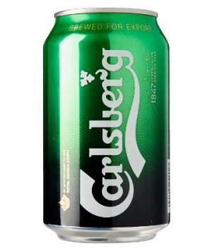 Carlsberg Green Label - Can