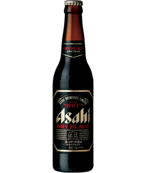 Asahi Super Dry Black Bottle Beer