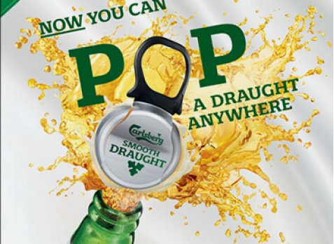 Pop a draught anywhere